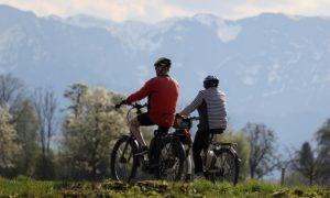 E Bike Tour mit bequemen Sattel