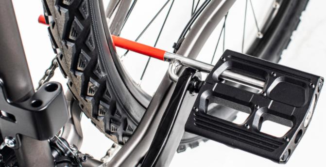 ET-one Fahrradschloss im Pedal Gadget E Bike