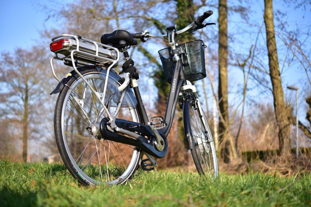 Pedelec mit Hinterradmotor