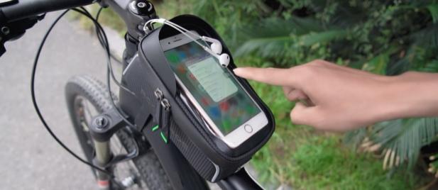 Rockbros Oberohrtasche Gadget für E Bike und Pedelec