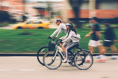Verkehrssicheres Fahrrad fahren
